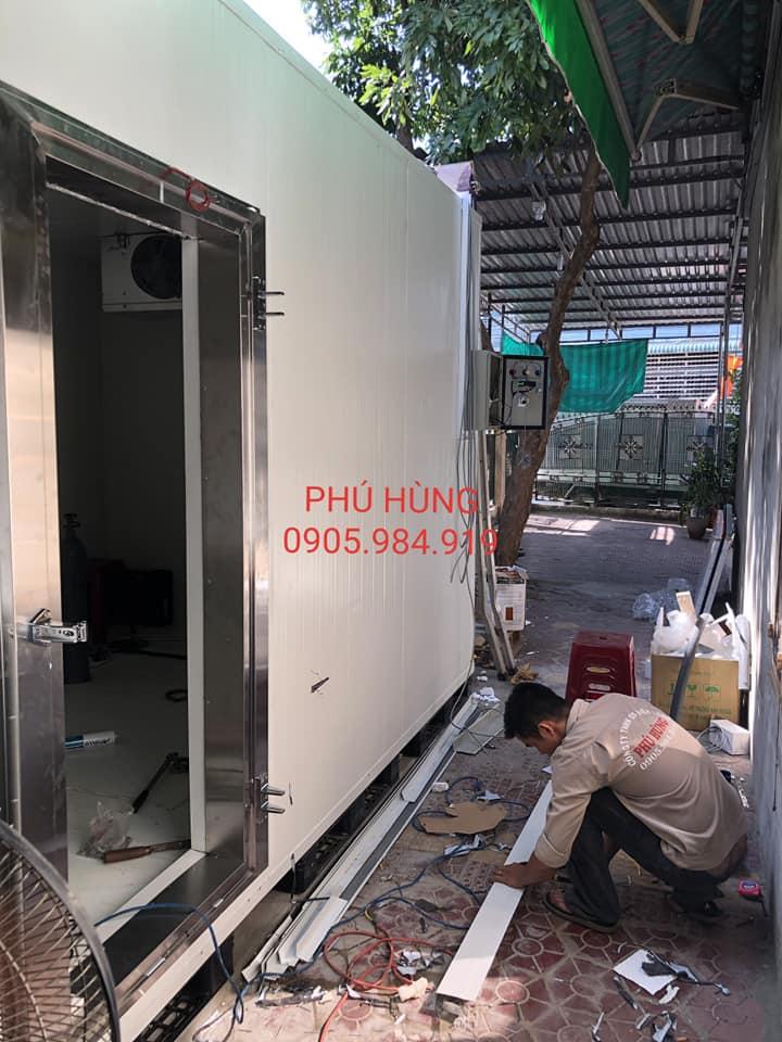 Lắp Đặt Kho Lạnh Bảo Quản Kem Lotte - Quảng Ngãi