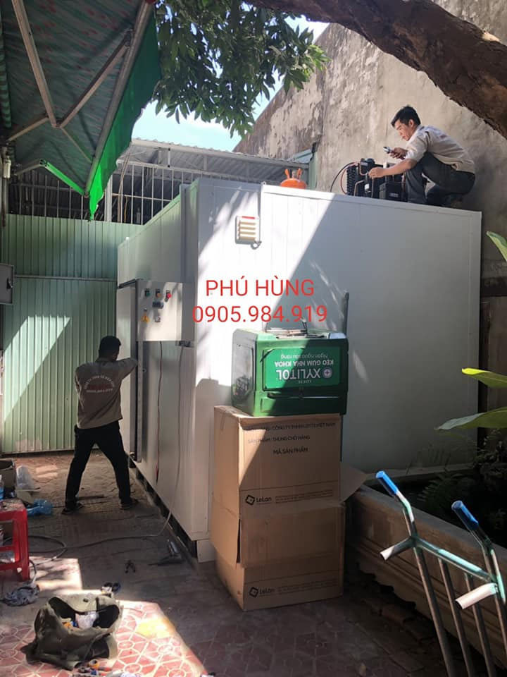 kho lanh bao quan kem lotte 6 - Lắp Đặt Kho Lạnh Bảo Quản Kem Lotte - Quảng Ngãi