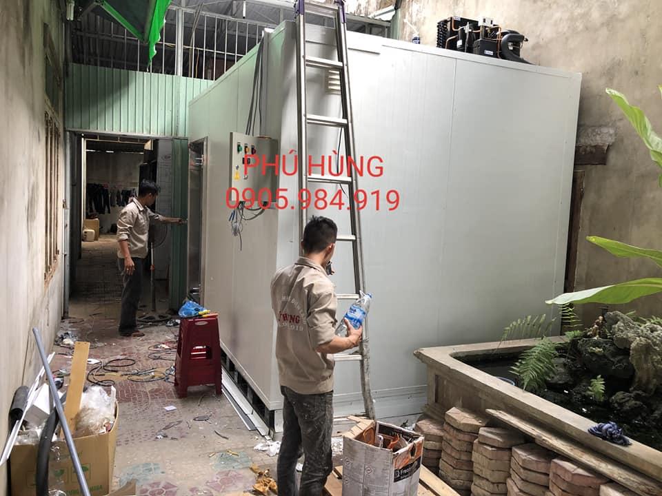 kho lanh bao quan kem lotte 7 - Lắp Đặt Kho Lạnh Bảo Quản Kem Lotte - Quảng Ngãi