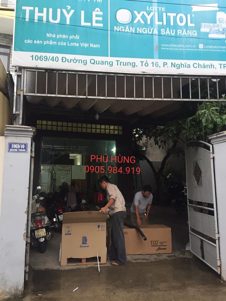kho lanh bao quan kem lotte 8 - Lắp Đặt Kho Lạnh Bảo Quản Kem Lotte - Quảng Ngãi