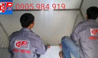 Cung cấp lắp đặt kho lạnh bảo quản Kem – TH milk tại Đà Nẵng