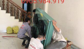 Lắp đặt kho lạnh bảo quản thực phẩm công ty Kim Thủy Phát